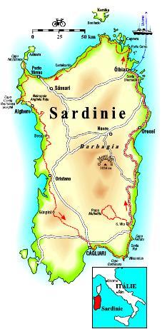Stredomorska Kraska Sardinie
